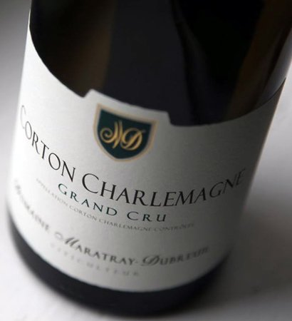 Corton Charlemagne maratray dubreuil
