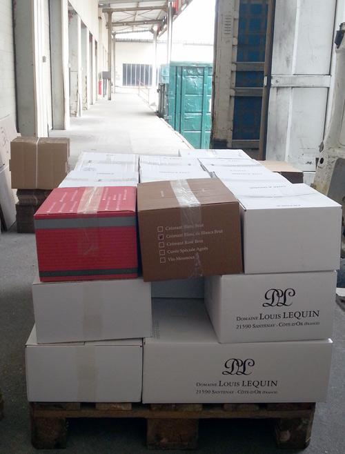 Livraison vin bourgogne